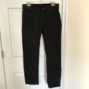 Joe's Jeans Black Straight Leg Jeans